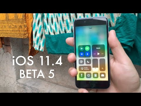 iOS 11.4 BETA 5 On iPHONE 6! (Review)