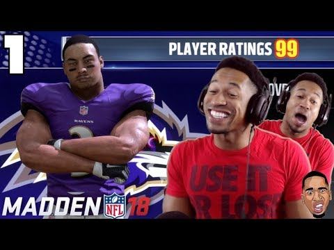 NEW POSITION!?! MADDEN 18 CAREER MODE GAMEPLAY Ep.1
