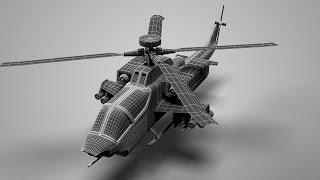 Modeling Apache helicopter 3ds max tutorial part - 1