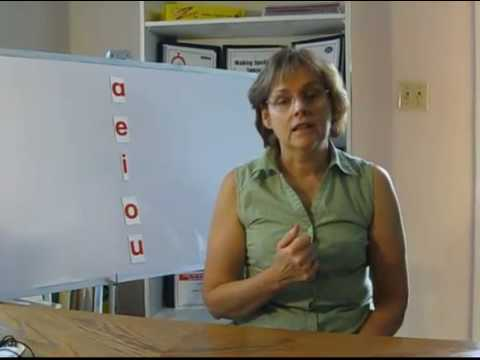 Teaching Short Vowel Sounds-Phonics-How to Spell-Reading Help Dyslexia Learning Disabilities