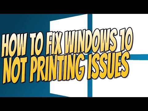 How To Fix Printer Not Printing In Windows 10   Easily FIX Printer Issues Tutorial