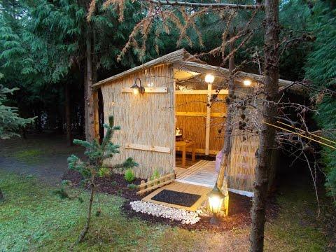 $200 cozy garden house
