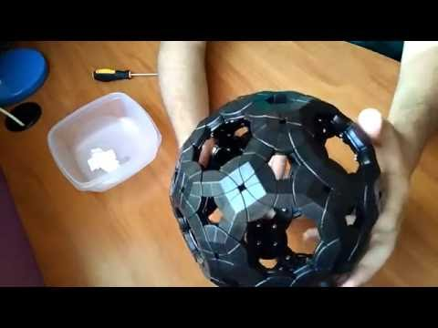 VeryPuzzle Void Truncated Icosidodecahedron Assembly