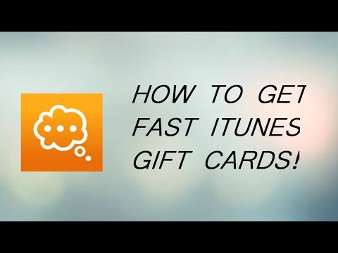 How To Get FREE Itunes Gift Cards - Quick Thoughts