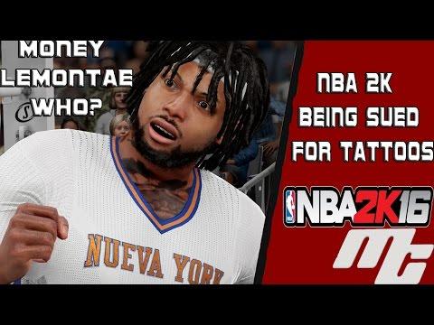 NBA 2K16 MyCareer - NBA 2K BEING SUED FOR TATTOOS
