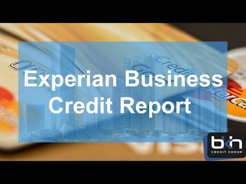 Experian Business Credit Report...how to leverage it to build business credit fast!