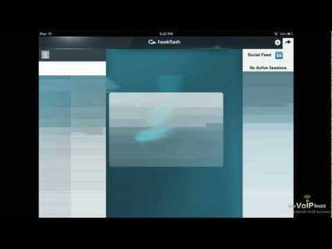Hookflash brings Free Video Calls to your iPad