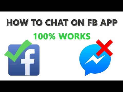 How To Send Message On Facebook App Without Messenger App In Hindi | 100% Works