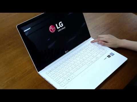 LG 2018 올뉴그램 부팅 및 타이핑 테스트 / Enuri 리뷰