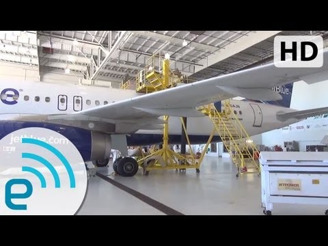JetBlue Fly-Fi: An Inside Look at the Airline's Satellite WiFi-Equipped Airbus A320 | Engadget