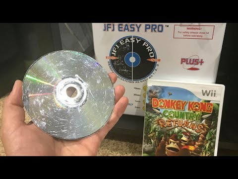 JFJ Easy Pro Vs Donkey Kong Country Scratched Wii Game