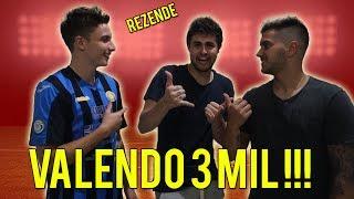DESAFIO DO MINI FUTEBOL vs REZENDE (VALENDO R$ 3.000,00!!)