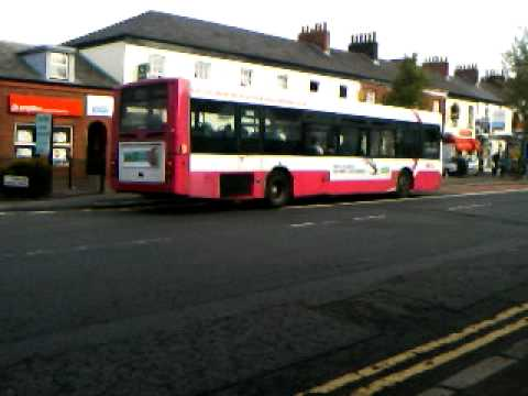 Belfast bus on the 9a service