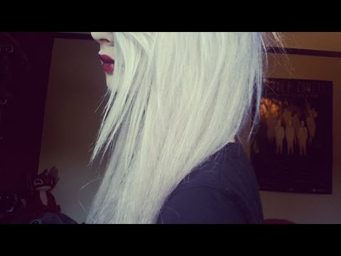 How to Get White/Lilac Hair!