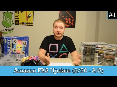 My Amazon FBA Update (2/26 - 3/4) - Video Games, Accessories, and More