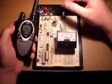 RF Detector / Field Strength Meter