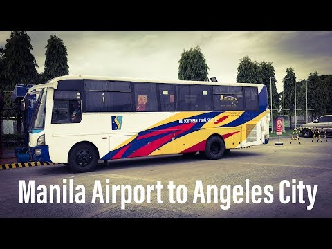 How to Get to Angeles City from Manila Airport - $15
