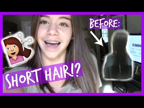 I GOT MY HAIRCUT SHORT!?