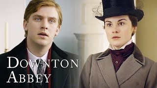 Matthew Meets Mary For The First Time   Downton Abbey