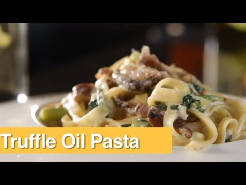 How To Make Truffle Oil Pasta | Olive Tree Trading | Vicky Ratnani