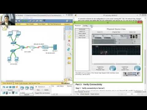 5.3.1.4 Packet Tracer - Verifying and Troubleshooting NAT Configurations