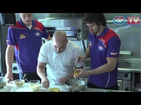 Pulled Pork Taco with Peanut Mayo - Shane Delia cooks with the Western Bulldogs
