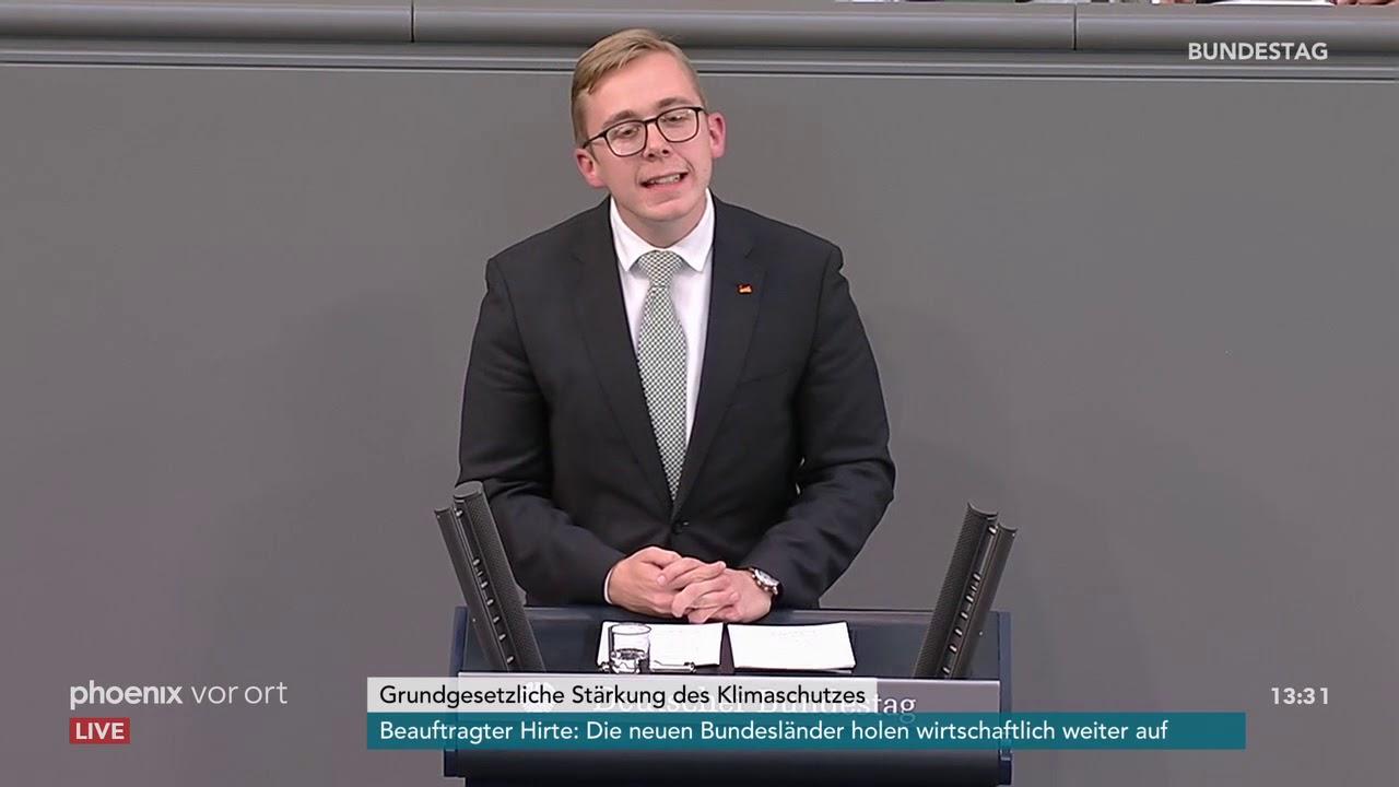 Bundestagsdebatte zur verfassungsrechtlichen Stärkung des Klimaschutzes am 27.09.18