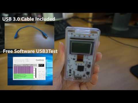 PassMark USB 3.0 Loopback Test Demonstration