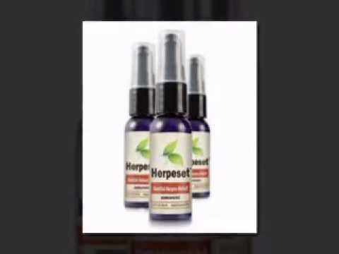 Herpeset 100% Natural Cure for Cold Sores