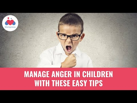 Anger Management Techniques For Children - Parenting Tips