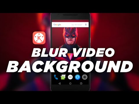 Kinemaster Editing #1 Blur Screen Recording Video Background In Android Like A Pro