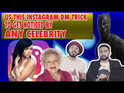How To Get Celebrities To Respond To Instagram DM's