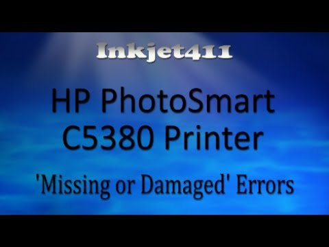 HP PhotoSmart C5380 Printer Error Troubleshooting