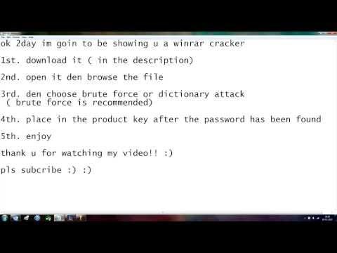 RaR password cracker JULY* 2013 no survey and no password