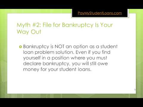 Top 3 Myths About Paying Off Your Student Loans