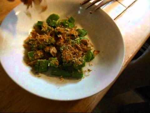Seasoned boiled okra