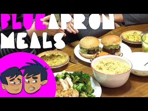 Blue Apron Meal and Rock Climbing Video (Budding Foodies)