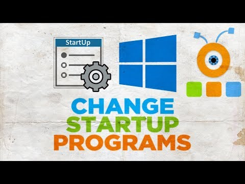 How to Change Startup Programs in Windows 10