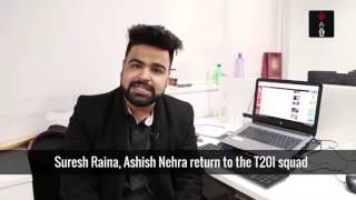 Yuvraj Singh Returns To Virat Kohli-Led India ODI, T20I Squads