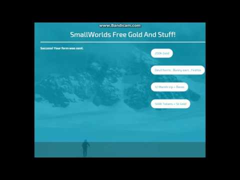 HOW TO GET FREE GOLD AND VIP SMALLWORLDS WORKS 100% -PROOFS- NO PASSWORDS