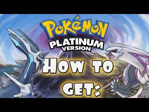 Pokemon Platinum[US]-Getting Adamant And Lustrous Orbs And Catching Dialga And Palkia(HQ)