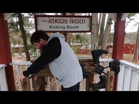 The 11 Foot 8 Bridge , Self Kicking Machine and Whirligigs