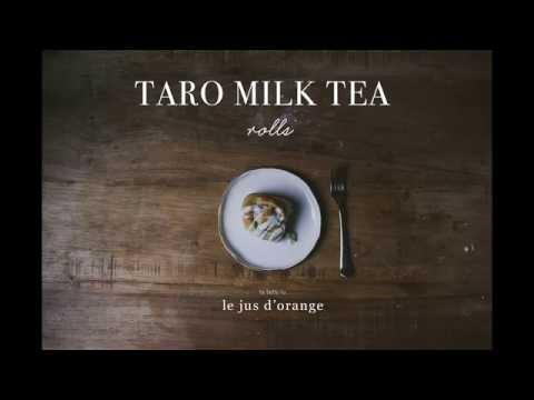 Taro Milk Tea Rolls