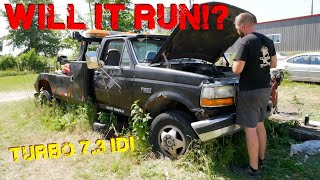 Can We Get ABANDONED Tow Trucks to RUN?  - Part 2