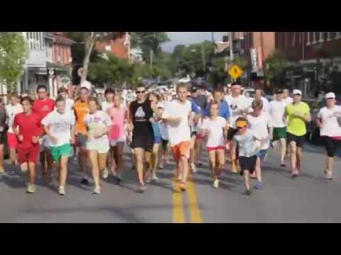 Natural Running in Shepherdstown, West Virginia