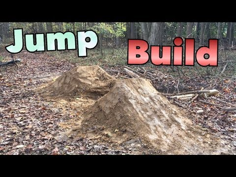 Building NEW Mtb Dirt Jumps + Time Lapse