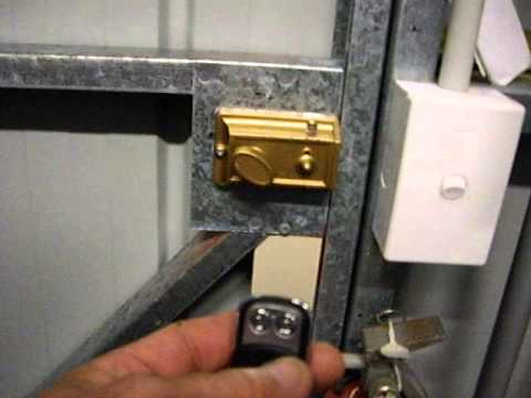 Electric Shed Door Lock | Locksmith Redcliffe QLD 4020