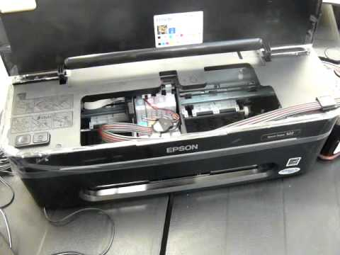 Ciss continuous ink system for the Epson stylus S22 printer