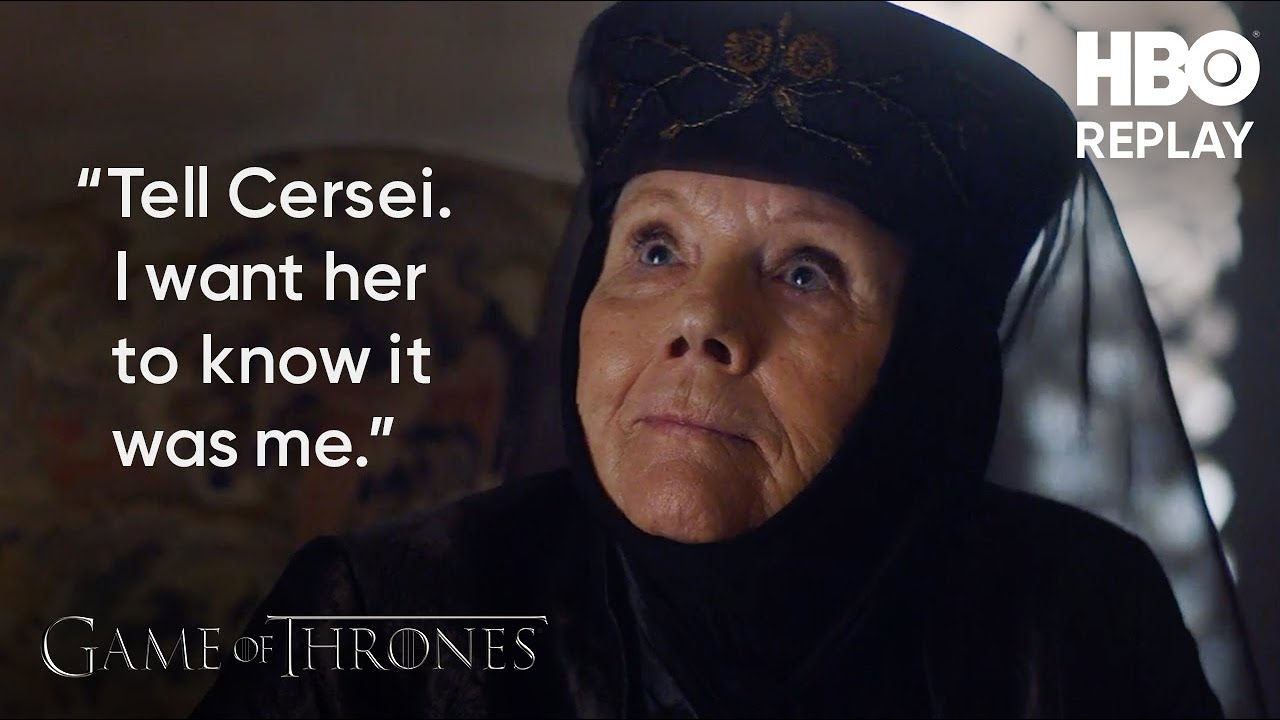 Game of Thrones: Olenna Confesses to Joffrey's Murder (Season 7 Clip) | HBO