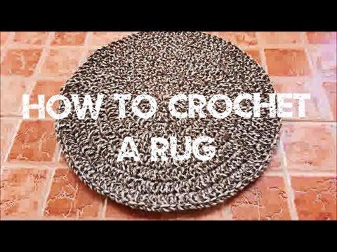 Crochet Vlog 7 | How to Crochet Easy Rug